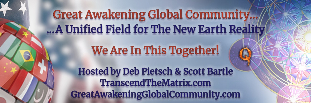Great Awakening Global Community Header