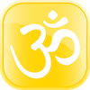 Om Rounded Yellow